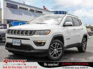 2019 Jeep Compass North - 4x4, Nav, Htd Seats, Back Up Cam, 8.4