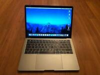 "2017 Apple MacBook Pro 13"" Touch Bar, Intel Core i5, 8GB RAM, 256GB SSD, Space Grey. Like New."