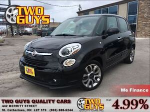 2014 Fiat 500L Sport PANORAMIC SUN ROOF LOW KMS!!