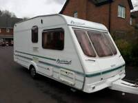 2001 swift accord 2 berth ✔Touring caravan 16ft long ✔Comes with a full ventura awning