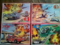 Joe 90 and Captain Scarlet Puzzles.