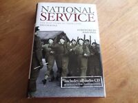 National Service Hardback Book & Audio CD by Trevor Royle