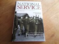 National Service Hardback Book & Audio CD by Trevor Royle