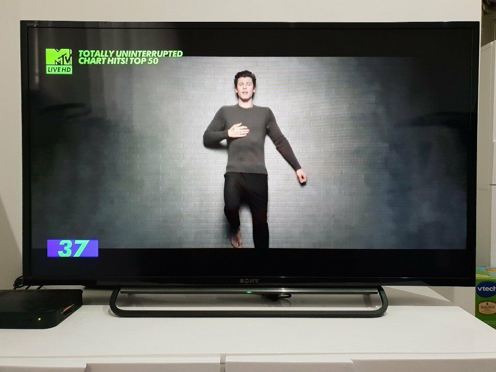 Sony KDL-40R483B HD LED TV Clear Resolution Enhancer Direct LED Backlight  technology Wi-Fi Direct | in Dunfermline, Fife | Gumtree