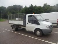 Ford Transit Diesel Tipper With removable extended sides