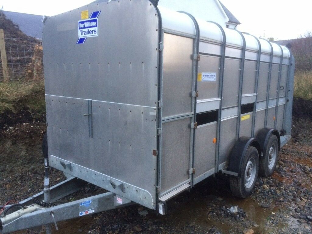 livestock trailer with double deck Ifor Williams, suitable