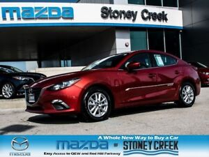 2015 Mazda MAZDA3 GS AUTO,NEW FR BRAKES,H/SEATS,1 OWNER, ACC FRE
