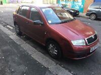 2007 skoda fabia 1.2 petrol 5 doors cheap car long mot