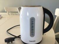 White Toshiba kettle
