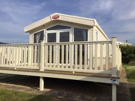 Brand New 2018 Carnaby Lodge with Full Decking on Berwick Haven Park with Stunning Sea Views