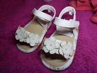 Baby girls sandals, 5 pairs.