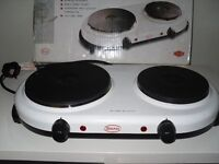 Swan Twin Cooking Hot Plates