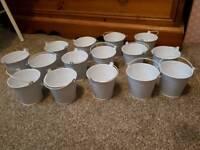 Wedding accessories - mini buckets