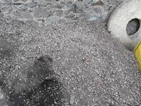 Free gravel (uncleaned)
