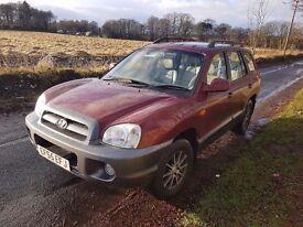 Immaculate condition Hyundai Santa Fe 4x4 55 reg *59000 miles* 1 year mot with no advisories