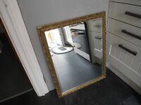 Antique gilt framed mirror