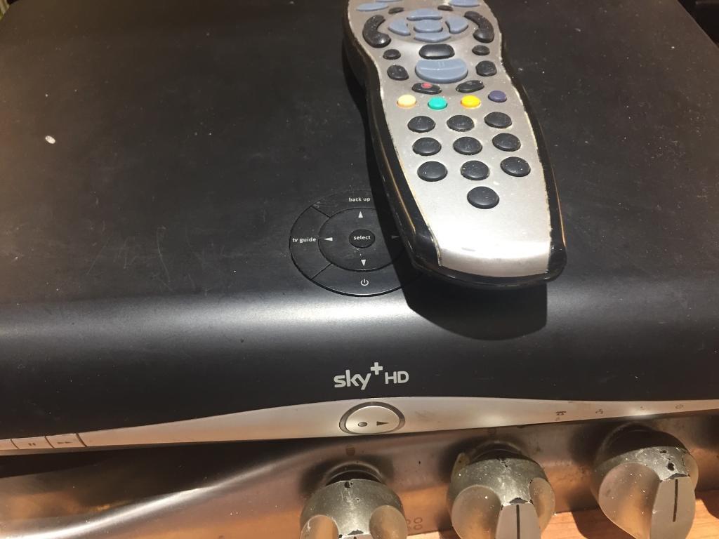 Sky box & remote control