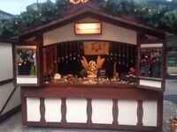 Stall in Brighton Christmas Market