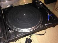 Two Technics Quartz Turntables 1210s