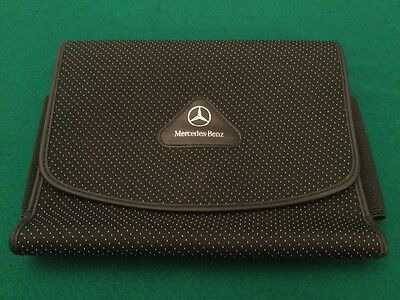 Mercedes Benz Owners Handbook/Manual  Document Wallet Nice ! A,B,C,E,S,M,SLK,CLK