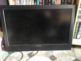 32 Inch LCD HD Sony TV (no remote or stand, needs wall brace)