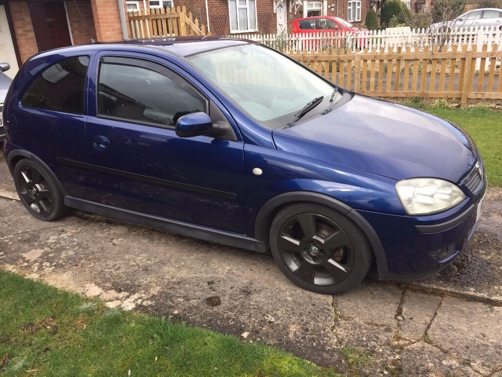 2004 54 vauxhall corsa sxi 1 4 with sri wheels in swindon wiltshire gumtree. Black Bedroom Furniture Sets. Home Design Ideas