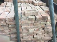 Victorian second hand bricks