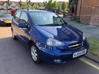Chevrolet Tacuma 2005. Year Mot. Tax. New shape