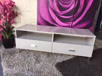 Tv Cabinet In Grey High Gloss