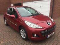 2011 Peugeot 207 1.4L petrol, red 69k miles,1 yr MOT,2 keys, Alloys, not 206 307 308