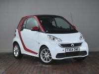 SMART FORTWO COUPE PASSION MHD 2DR SOFTOUCH AUTO [2010] (white) 2014