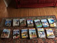 TRAIL magazines - 121 in total going back to 2001.