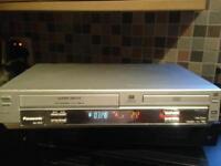Panasonic DVD video player combi