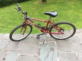 Good Quality Raleigh Cyclone youths bike