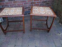 Pair of retro G Plan side tables