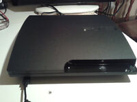 Sony Playstation 3 320gb Hard Drive Great Games Installed 1 New Controller