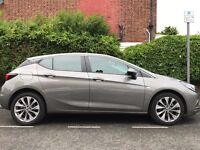 bargain!! nearly 2017 new Vauxhall astra petrol manual 2k miles only HPI CLEAN