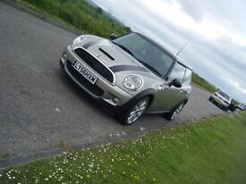 2007 BMW MINI COOPER S SUPERCHARGED LONG MOT UNABUSED EXAMPLE RARE COLOUR
