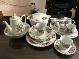 Royal Norfolk China Tea and Dinner Set