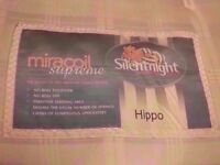 Thick Silentnight Hippo Double Mattress in Good Condition - Free Delivery