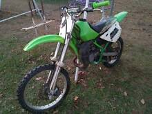 KX 100 2 stroke motorcross bike - sale or swap for 125 or bigger Crows Nest Toowoomba Surrounds Preview