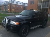 Mitsubishi SHOGUN WARRIOR SPORT *NEW SERVICE * NEW ENGINE BELTS * SOUNDS GREAT DRIVES LIKE A DREAM*