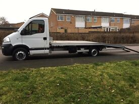 60 PLATE VAUXHALL MOVANO 2.5 6 SPEED RECOVERY/CAR TRANSPORTER BRAND NEW BODY WINCH