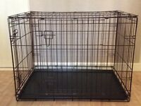 Large a dog Crate