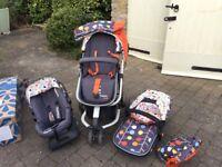 Cosatto baby stroller set
