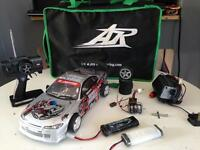 Rc drift car with extras