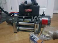Brand new winch for 4x4 or RECOVERY truck everythink included