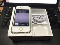 IPhone 4s white 16GB on Vodafone! Boxed in very good condition x