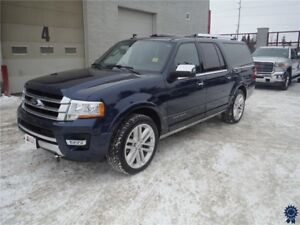 2017 Ford Expedition Max Platinum - 8 Passenger - Tow Package