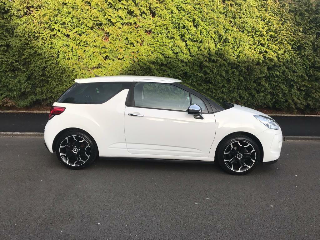 citroen ds3 1 6 hdi black and white 3dr 90bhp limited edition in edgbaston west midlands. Black Bedroom Furniture Sets. Home Design Ideas